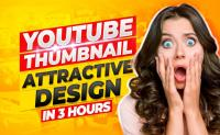Very attractive Professional looking YouTube Thumbnail.