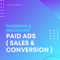 FACEBOOK & INSTAGRAM ADS FOR E-COMMERCE BUSINESS ( SALES & CONVERSION )