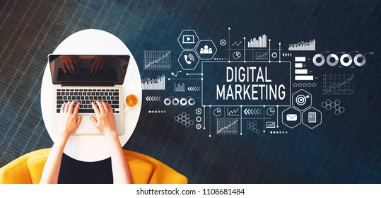 digital-marketing-person-using-laptop-260nw-1108681484